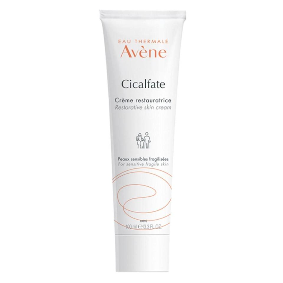 """<p>Infused with the French brand's famous thermal spring water, Eau Thermale Avene's Cicalfate+ Restorative Protective Cream provides immediate comfort for dry, red, and itchy skin affected by eczema. It also contains a soothing copper-zinc sulfate blend, which supports a healthy skin environment, as well as its own protein-rich ingredient called C+ Restore that helps protect and preserve the skin barrier. Additionally, it's gentle and safe for anyone to use — even infants.</p> <p><strong>$42</strong> (<a href=""""https://shop-links.co/1712081595199777444"""" rel=""""nofollow noopener"""" target=""""_blank"""" data-ylk=""""slk:Shop Now"""" class=""""link rapid-noclick-resp"""">Shop Now</a>)</p>"""