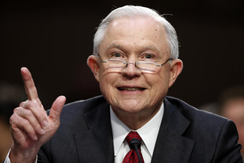 What could happen if Jeff Sessions is pushed out of office?