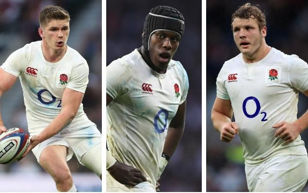 Owen Farrell, Maro Itoje and Joe Launchbury are all in with a chance