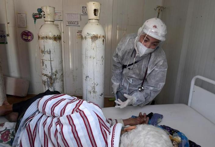 Tunisia's crumbling health system, overwhelmed with Covid-19 patients, faces a severe lack of oxygen, staff and equipment