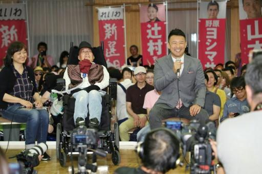 Yasuhiko is the first person with ALS, Amyotrophic Lateral Sclerosis, to be elected to Japan's national parliament