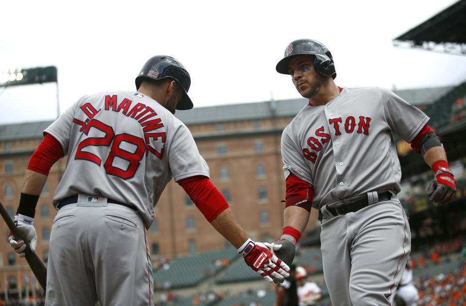 The Boston Red Sox have a legitimate shot at winning 117 games. (AP)
