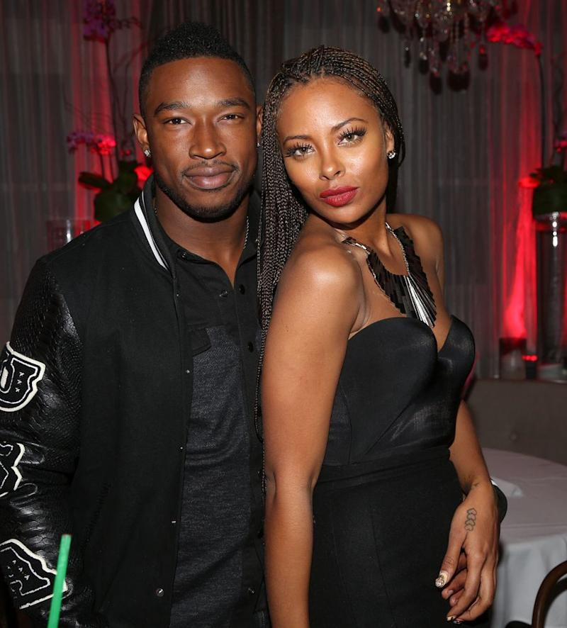 Kevin McCall and Eva Marcille | Johnny Nunez/WireImage