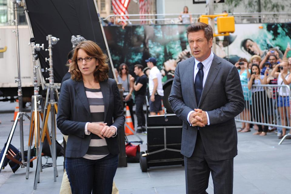 """<h1 class=""""title"""">30 ROCK, (from left): Tina Fey, Alec Baldwin, 'The Beginning of the End', (Season 7, ep. 701, aired</h1><cite class=""""credit"""">Photo: Courtesy Everett Collection</cite>"""