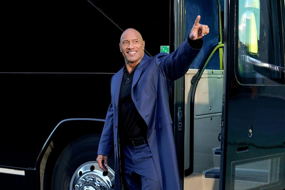 Dwayne Johnson, seen in an episode of 'Young Rock,' will appear in each episode of the NBC sitcom that charts his formative years, with three other actors playing him at 10, 15 and 18.