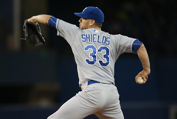 James Shields' durability is what sets him apart. (Getty Images)