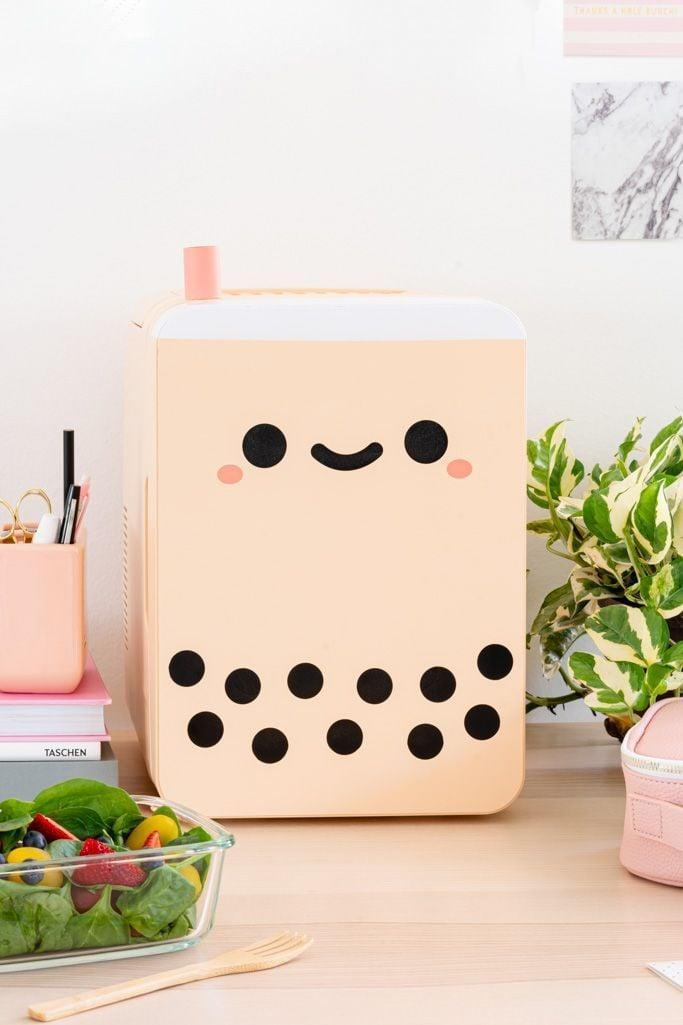 <p>This <span>Smoko Pearl Boba Tea Mini Fridge 10</span> ($109) is too cute and perfect for the one getting started on their skin-care journey. </p>