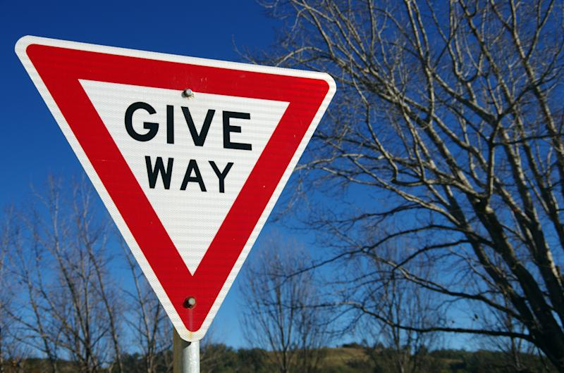 Picture of a Give Way sign