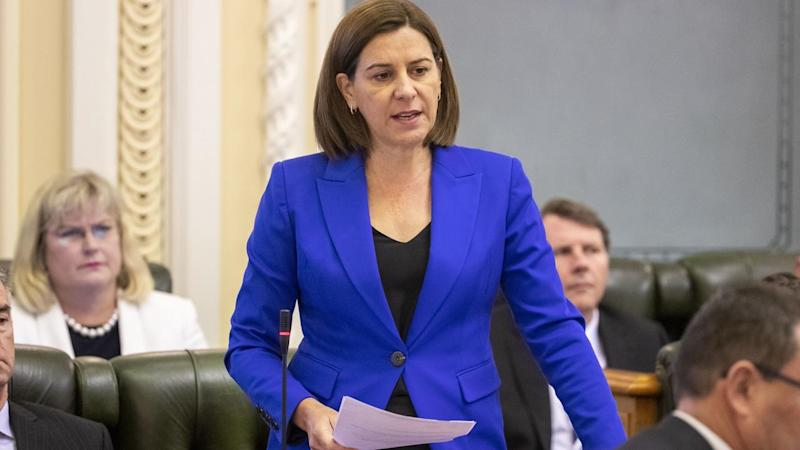 QLD PARLIAMENT QUESTION TIME