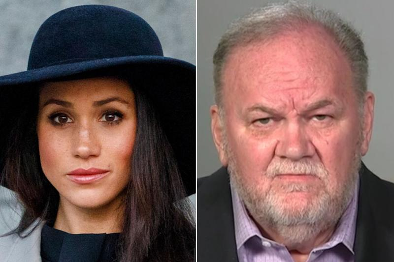 Meghan Markle and Thomas Markle | Tolga Akmen - WPA Pool/Getty Images; Good Morning Britain/ITV