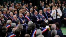 Macron's party reclaims top spot from Le Pen in European vote poll