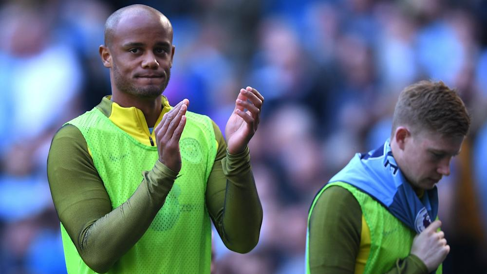 Vincent Kompany Manchester City Premier League