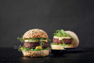 Redefine Burger – the world's first premium restaurant-style burger, packing 170 grams of New-Meat