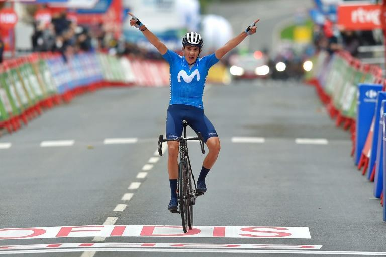 Marc Soler's win on the second stage of the Vuelta a Espana was his first on a grand tour