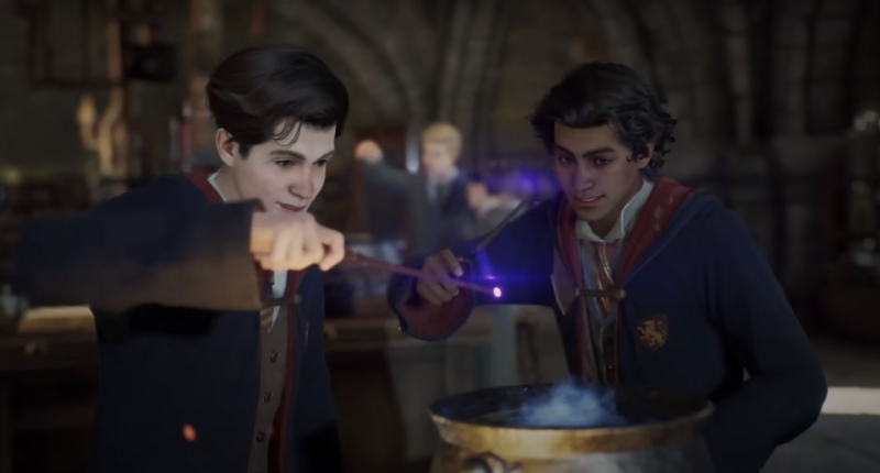 "Harry Potter's JK Rowling ""not directly involved"" with new Hogwarts Legacy  game"