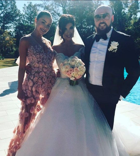 The former Miss Universe was a guest at Salim Mehajer's sister's wedding in 2016. Photo: Instagram/salim.mehajer