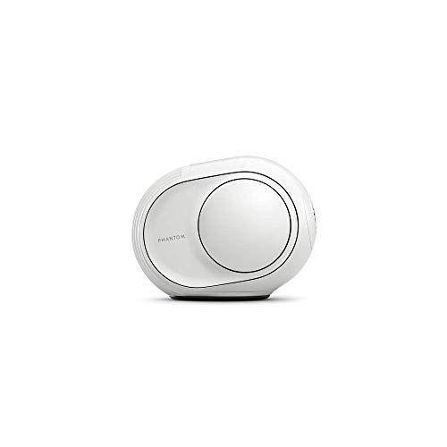 """<p><strong>Devialet</strong></p><p>amazon.com</p><p><strong>$1090.00</strong></p><p><a href=""""https://www.amazon.com/dp/B07J4HS17H?tag=syn-yahoo-20&ascsubtag=%5Bartid%7C10067.g.13094996%5Bsrc%7Cyahoo-us"""" rel=""""nofollow noopener"""" target=""""_blank"""" data-ylk=""""slk:Shop Now"""" class=""""link rapid-noclick-resp"""">Shop Now</a></p><p>This speaker looks small, but it packs a punch. Set in on a shelf and connect any of your devices to stream music through AirPlay, Spotify, or Bluetooth. </p>"""