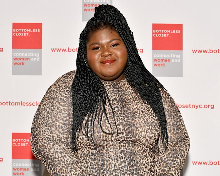 Gabourey Sidibe recalled her struggle with bulimia on an upcoming episode of Peace of Mind with Taraji. (Photo: Dia Dipasupil/Getty Images for Bottomless Closet)