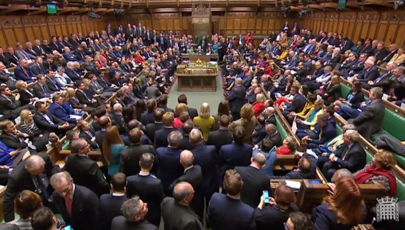 Britain's House of Commons is set to vote again on a Brexit deal (AFP Photo/HO)