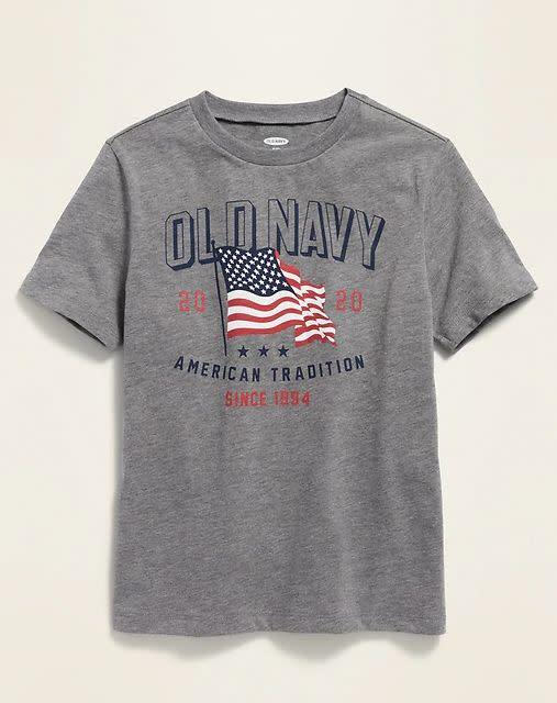 "Find this 2020 graphic tee for $4 at <a href=""https://yhoo.it/2ZhP5q4"" rel=""nofollow noopener"" target=""_blank"" data-ylk=""slk:Old Navy"" class=""link rapid-noclick-resp"">Old Navy</a>."