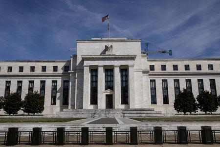 FILE PHOTO: FILE PHOTO: The Federal Reserve Board building on Constitution Avenue is pictured in Washington