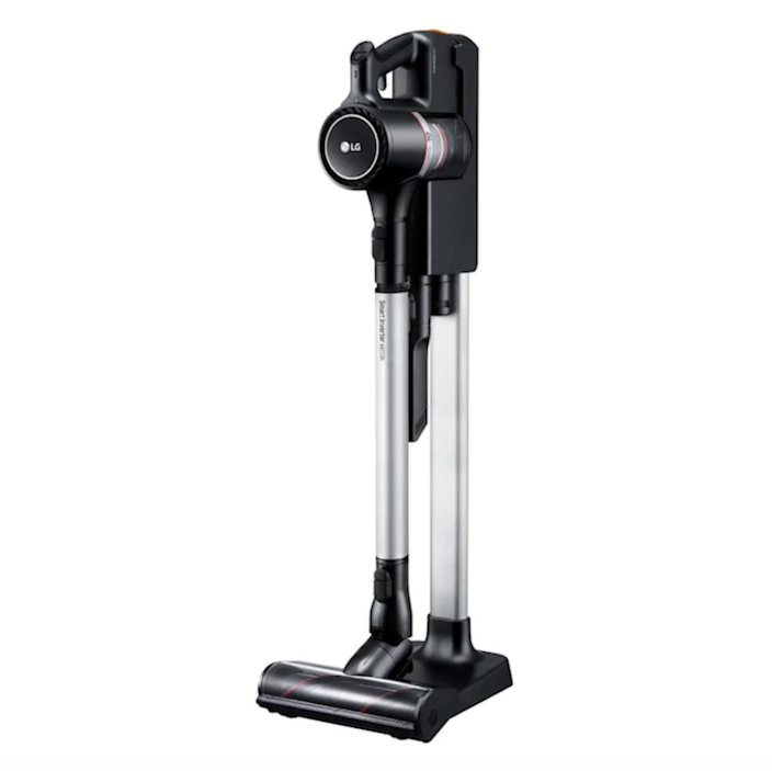 """This vacuum can be stored anywhere in the house, and unlike most other cordless vacuums, does not need to be drilled to a wall. $449, Lowe's. <a href=""""https://www.lowes.com/pd/LG-Cord-Zero-A900BM/1003140972"""" rel=""""nofollow noopener"""" target=""""_blank"""" data-ylk=""""slk:Get it now!"""" class=""""link rapid-noclick-resp"""">Get it now!</a>"""