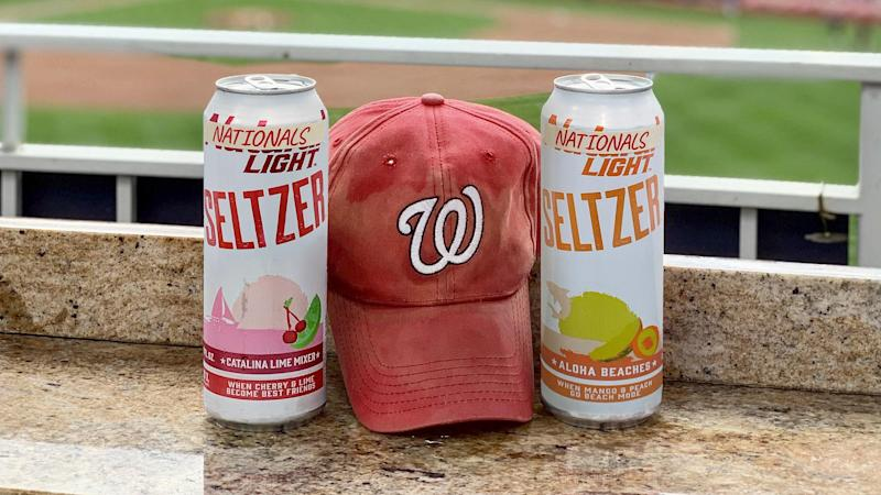 Natural Light Seltzer becomes 'Nationals Light' for the World Series