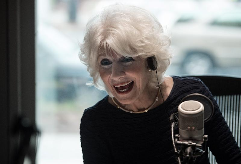 More than two million people tune in every weekday to Diane Rehm's eponymous live call-in program, distributed in the US by National Public Radio (NPR) and carried by some 200 stations (AFP Photo/Nicholas KAMM)