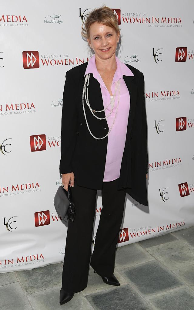 Gabrielle Carteris attends 56th Annual Genii Awards Show held at the Skirball Cultural Center on April 23, 2013 in Los Angeles, California. (Photo by James Lemke Jr/FilmMagic)