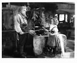 <p>Shirley Temple in a scene from <em>Heidi </em>alongside Jean Hersholt as her grandfather. </p>