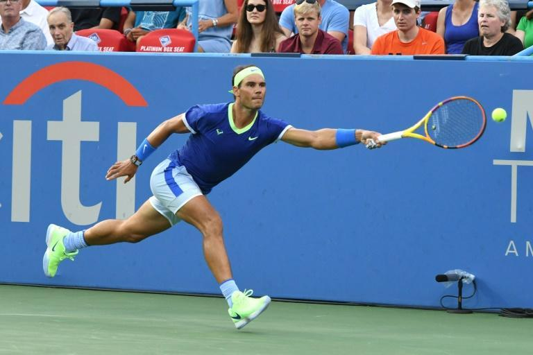 Spain's Rafael Nadal was beaten in his the second match of his comeback after a two-month layoff, falling to South African Lloyd Harris on Thursday at the ATP Citi Open