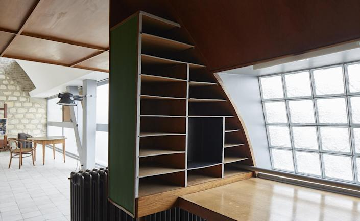 Inside famed architect Le Corbusier's Paris apartment.