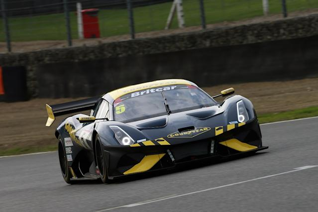 New Brabham triumphs on debut in Britcar night race