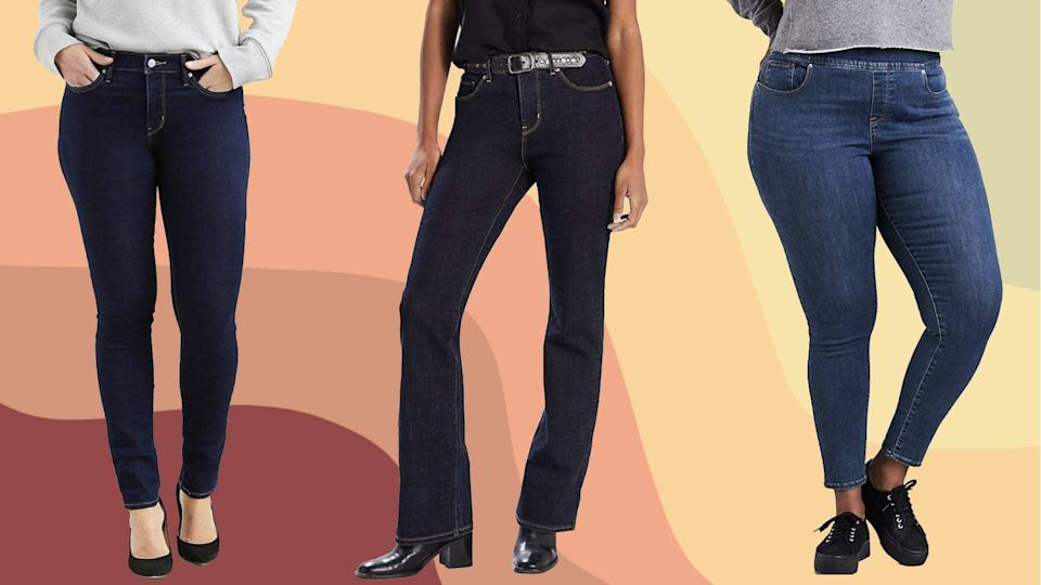 This Levi's sale has a cut for every shape. You'll feel great in a pair that fits perfectly. (Photo: Amazon)