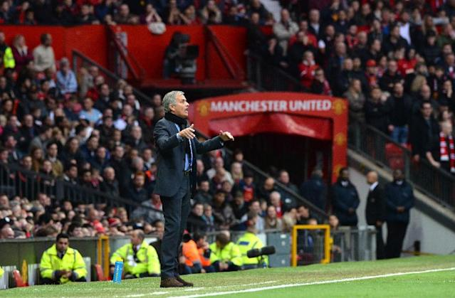 Reports say Manchester United have held preliminary talks with Jose Mourinho (AFP Photo/Paul Ellis)