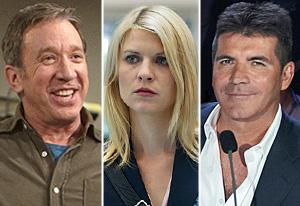 Last Man Standing, Homeland, The X Factor | Photo Credits: Randy Holmes/ABC; Kent Smith/Showtime; Michael Becker/Fox