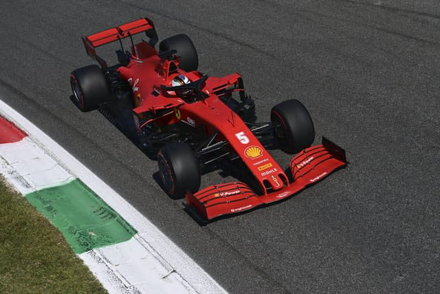 Sebastian Vettel was eliminated in Q1