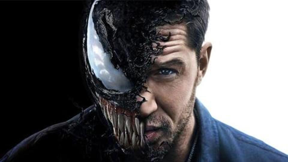 Tom Hardy's Venom tops the Official Film Chart (Photo: Sony Pictures)