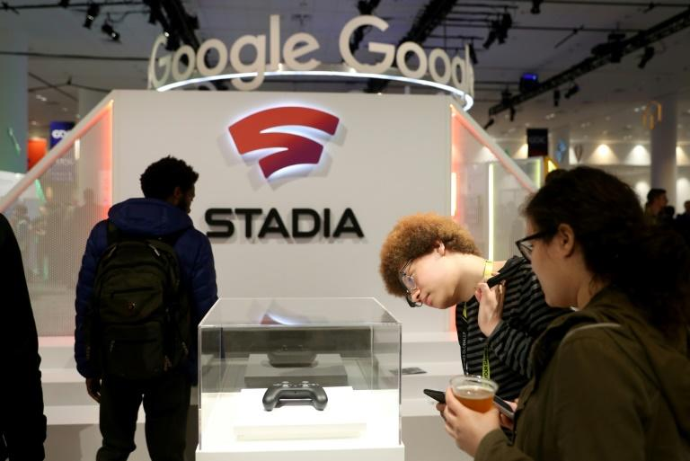 Google looks to disrupt the video game industry with console-quality play without the need for consoles, offering action powered by its internet cloud (AFP Photo/JUSTIN SULLIVAN)