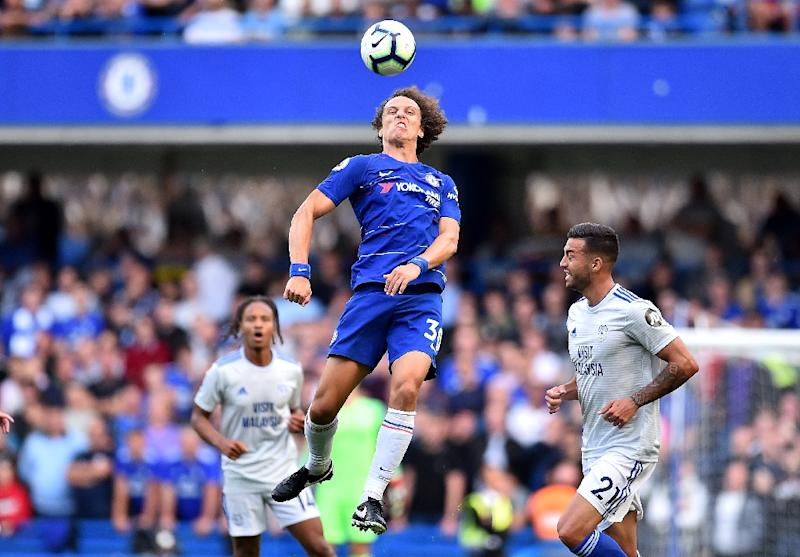 Chelsea's Maurizo Sarri on says David Luiz 'able to play my football'