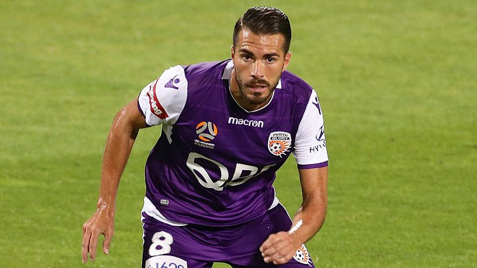 Former Perth Glory player Xavier 'Xavi' Torres was one of the players convicted of match-fixing in Spain. Pic: Getty