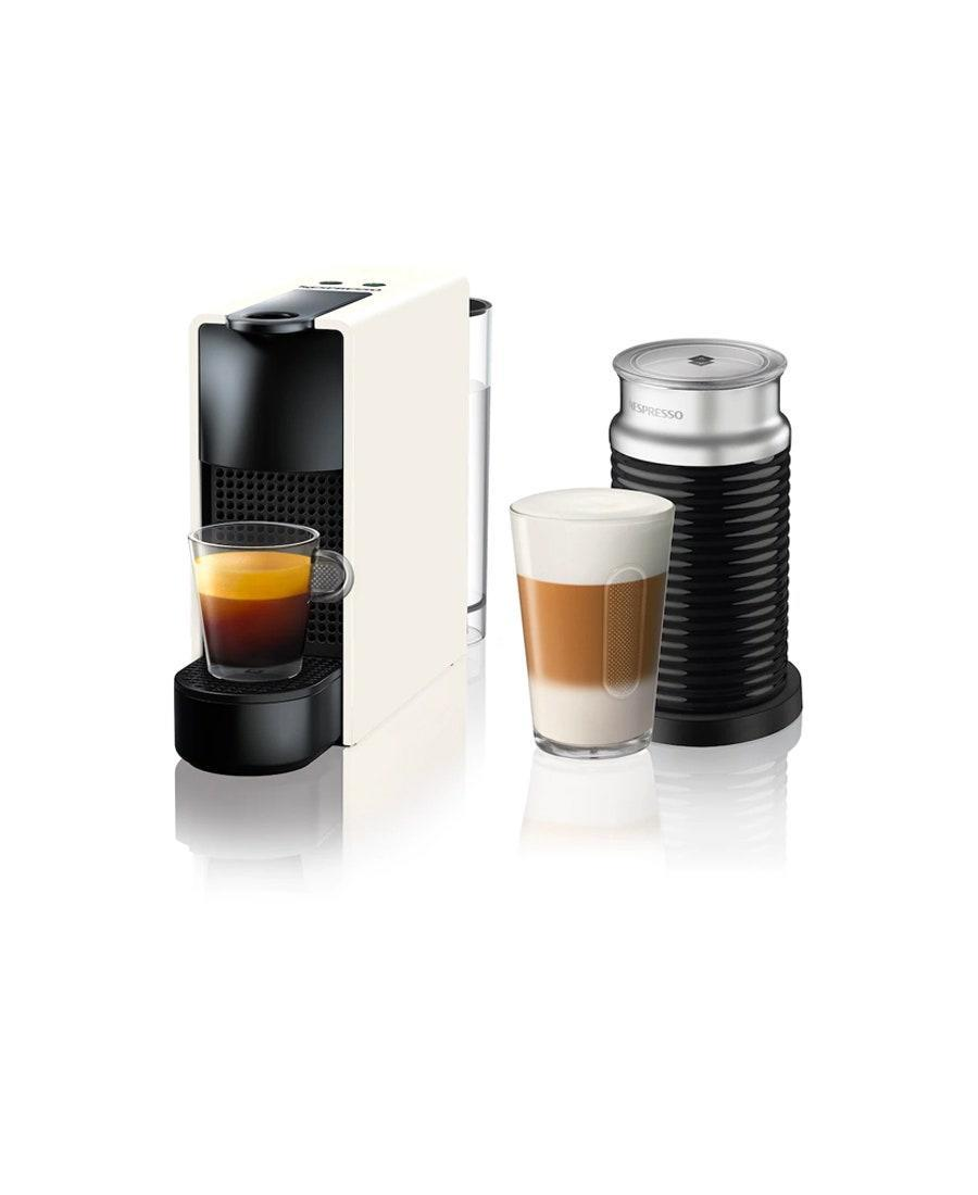 """Perfectly frothed lattes and <a href=""""https://www.glamour.com/gallery/best-espresso-machines?mbid=synd_yahoo_rss"""" rel=""""nofollow noopener"""" target=""""_blank"""" data-ylk=""""slk:café-level espressos"""" class=""""link rapid-noclick-resp"""">café-level espressos</a> are just a button away for the couple that drinks coffee like water. $199, Nespresso. <a href=""""https://www.nespresso.com/us/en/order/machines/original/nespresso-essenza-mini-c30-intense-grey-bundle"""" rel=""""nofollow noopener"""" target=""""_blank"""" data-ylk=""""slk:Get it now!"""" class=""""link rapid-noclick-resp"""">Get it now!</a>"""