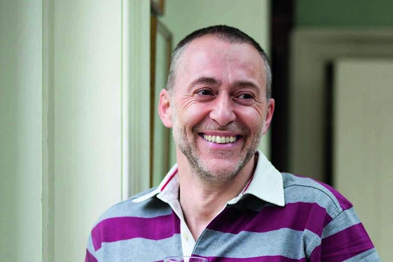 Michel Roux Jr: at the bar with a glass of red