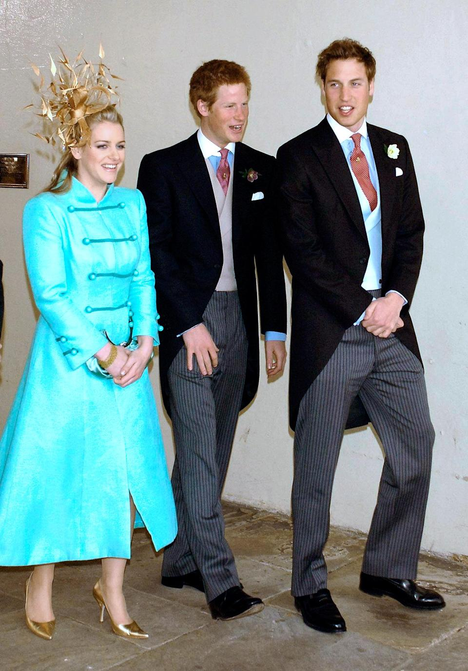 Prince William reportedly had regular bust-ups with his step-sister, Laura Lopes, around the same time Camilla and Charles married in 2005. Photo: Getty Images