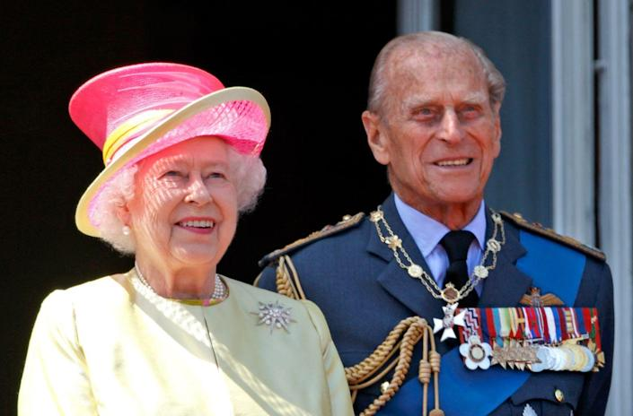 """<p>It's hard to imagine anyone calling the Queen anything but """"Her Majesty,"""" but Philip does. According to Sally Bedell Smith's book, <em><a href=""""https://books.google.ru/books?id=WlaGJgGK_usC&pg=PA103&lpg=PA103&dq=Don%E2%80%99t+look+so+sad,+Sausage&source=bl&ots=YBv7VomxMM&sig=ACfU3U1F3OFCr_Ar_iagN9BMr_2p7eh0Iw&hl=ru&sa=X&ved=2ahUKEwi99_a7tqTnAhUr06YKHWZBAukQ6AEwFXoECAoQAQ#v=onepage&q=Don%E2%80%99t%20look%20so%20sad%2C%20Sausage&f=false"""" rel=""""nofollow noopener"""" target=""""_blank"""" data-ylk=""""slk:Elizabeth The Queen"""" class=""""link rapid-noclick-resp"""">Elizabeth The Queen</a></em>, Philip calls his wife """"sausage."""" The story behind the name is that she doesn't have a naturally smiling face...so when she meets people, she often looks grumpy. At one formal occasion, Philip said to her, """"Don't look so sad, Sausage."""" The name stuck.</p>"""