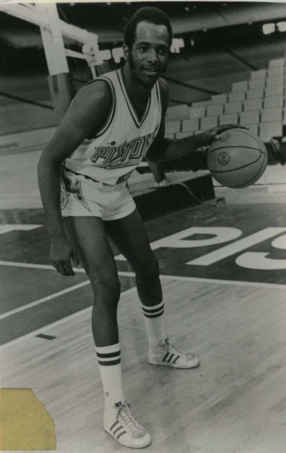 Terry Duerod was a star for the University of Detroit Titans before an NBA career with the Pistons and three other teams.