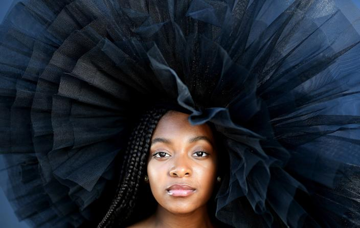 """Arianna Carson is trying to adjust to pandemic-related changes to her college plans. <span class=""""copyright"""">(Christina House / Los Angeles Times)</span>"""