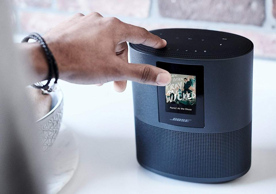 Save up to 25 percent on Bose Home Speaker 300 and 500. (Photo: Amazon)