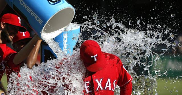 Thoughts on a 7-4 Rangers win