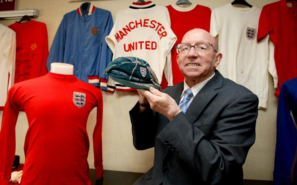 Stiles sent his collection of footballing memorabilia to auction to raise money for his family - PA ARCHIVE